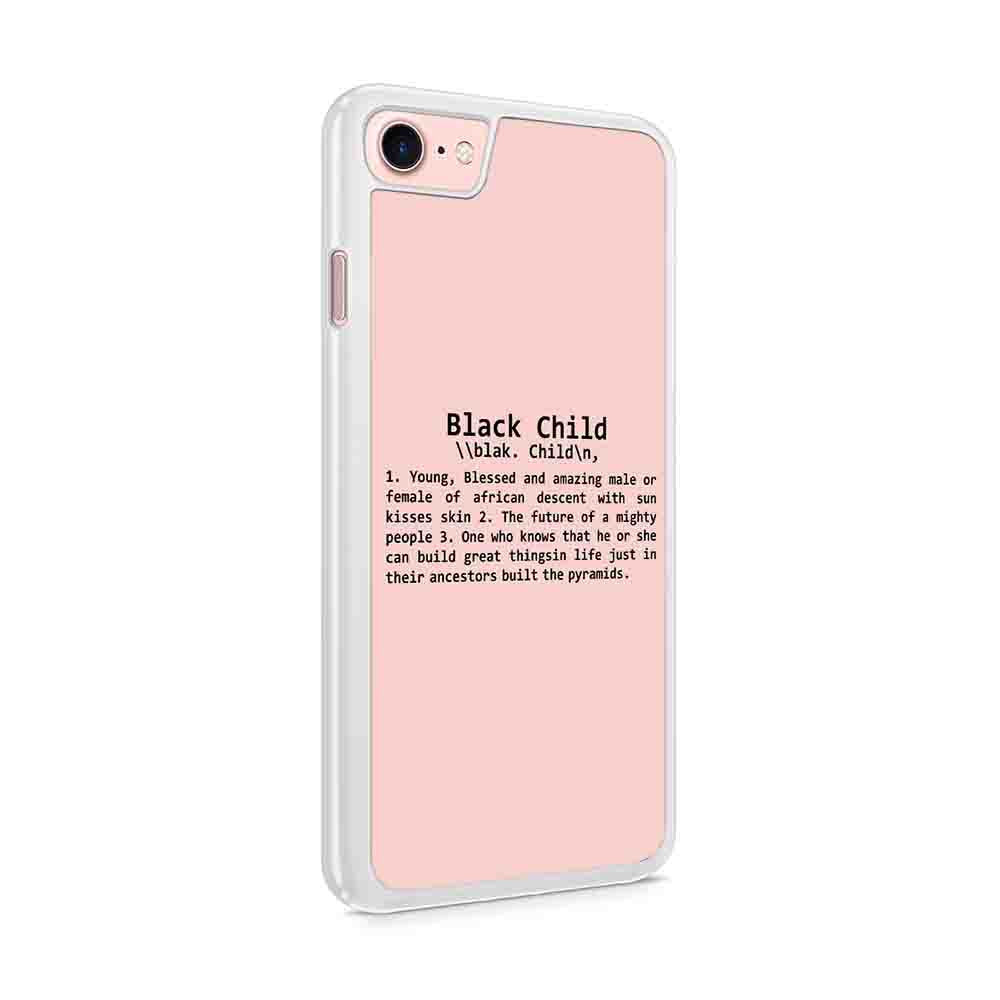 Definition Of A Black Child African American Iphone 7 / 6 / 5 Case