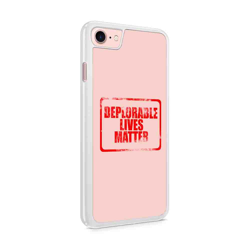 Deplorable Lives Matter Red Color Iphone 7 / 6 / 5 Case
