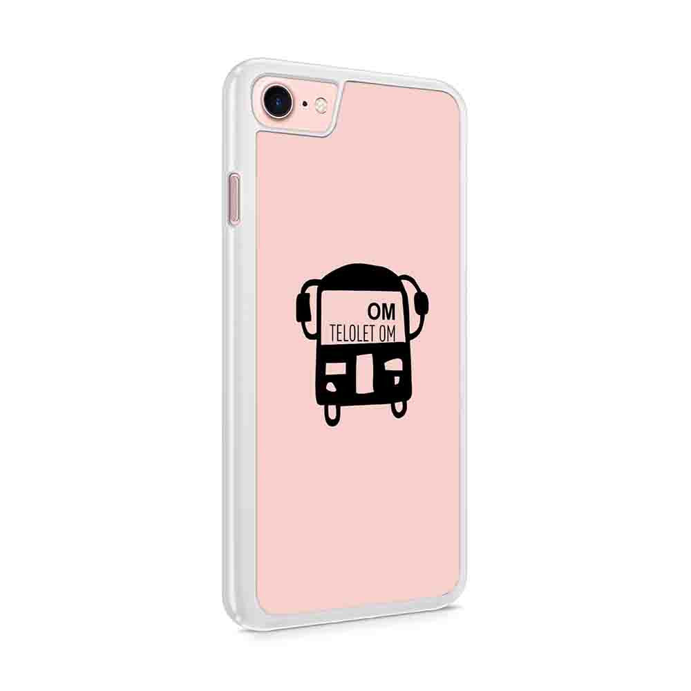 Details About Om Telolet Om Funny Kids Phrase Ask Bus Driver Honk The Horn Sir Iphone 7 / 6 / 5 Case