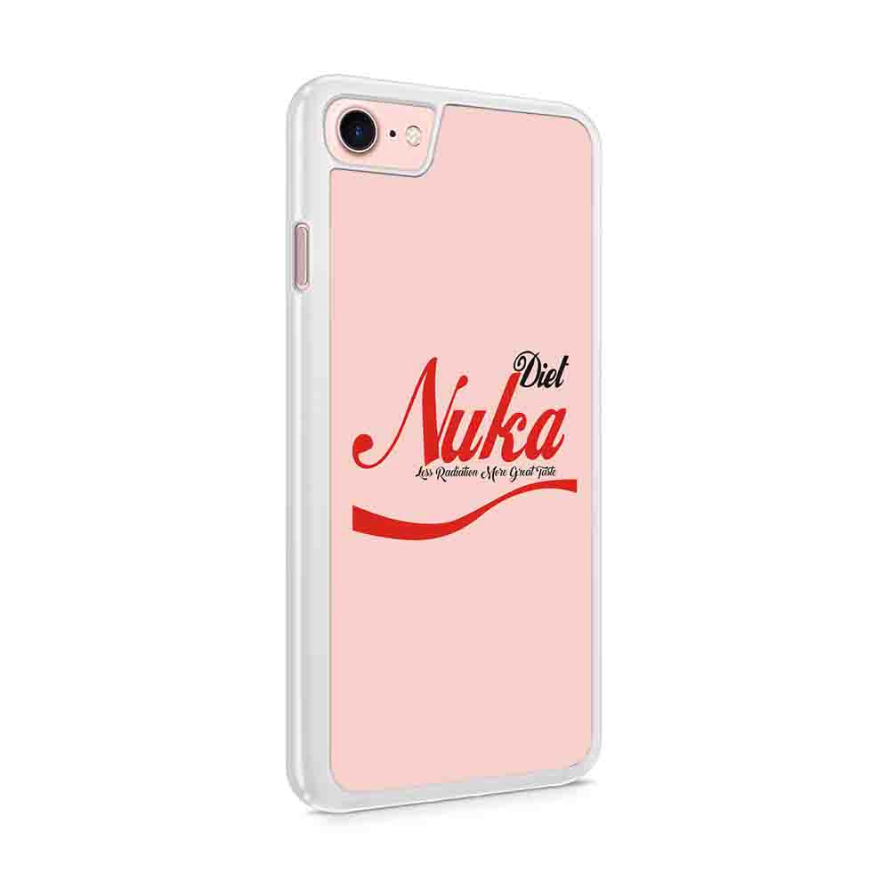 Diet Nuka Cola Drink Black Gamers Fallout Themed Iphone 7 / 6 / 5 Case