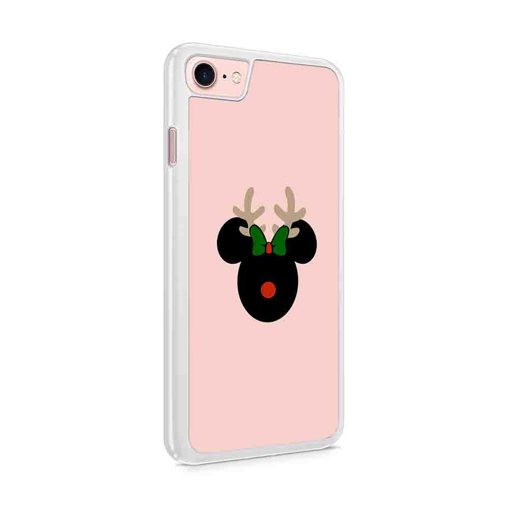 Disney Christmas Mickeys Very Merry Christmas Party Minnie Christmas Disney Christmas Minnie Reindeer Iphone 7 / 6 / 5 Case