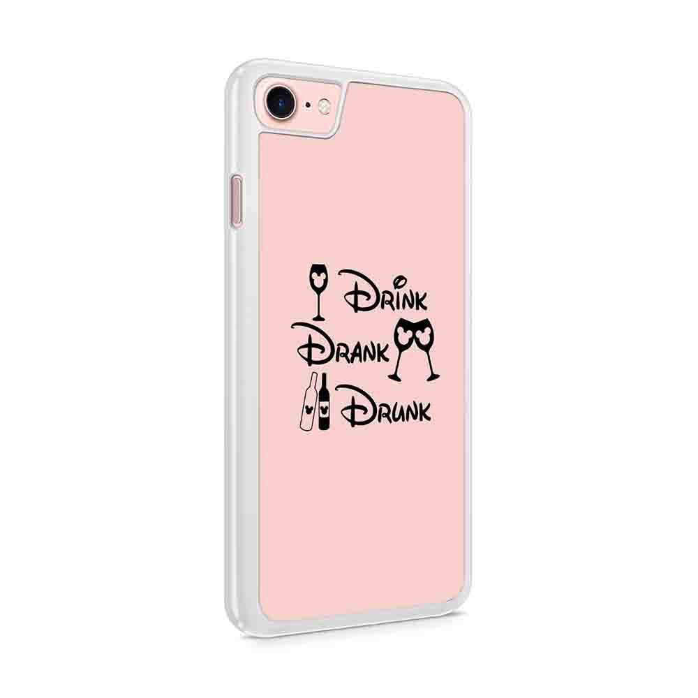 Disney Drinking Around The World Drink Drank Drunk Wine Epcot Food And Wine Disney Vacation Disneyland Iphone 7 / 6 / 5 Case