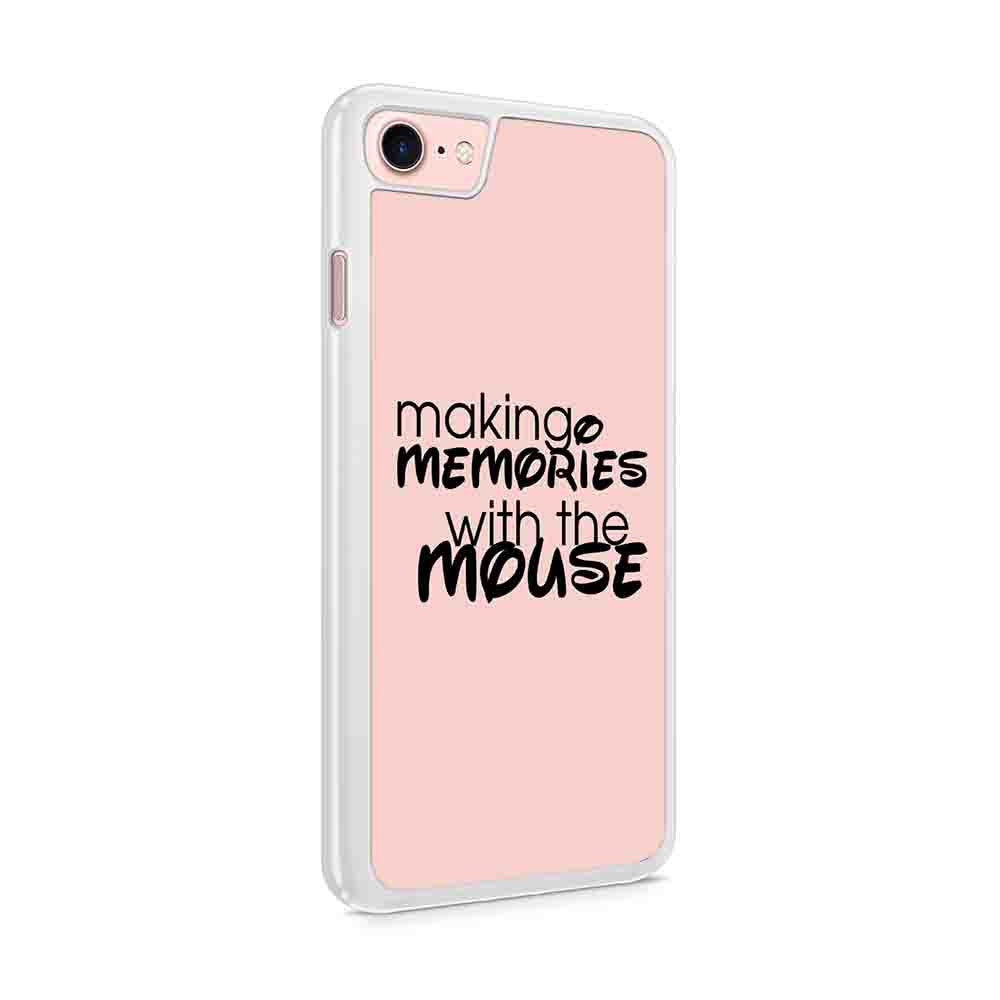 Disney Making A Memoris With The Mouse Mickey Mouse Disneyworld Disneyland World Land Iphone 7 / 6 / 5 Case