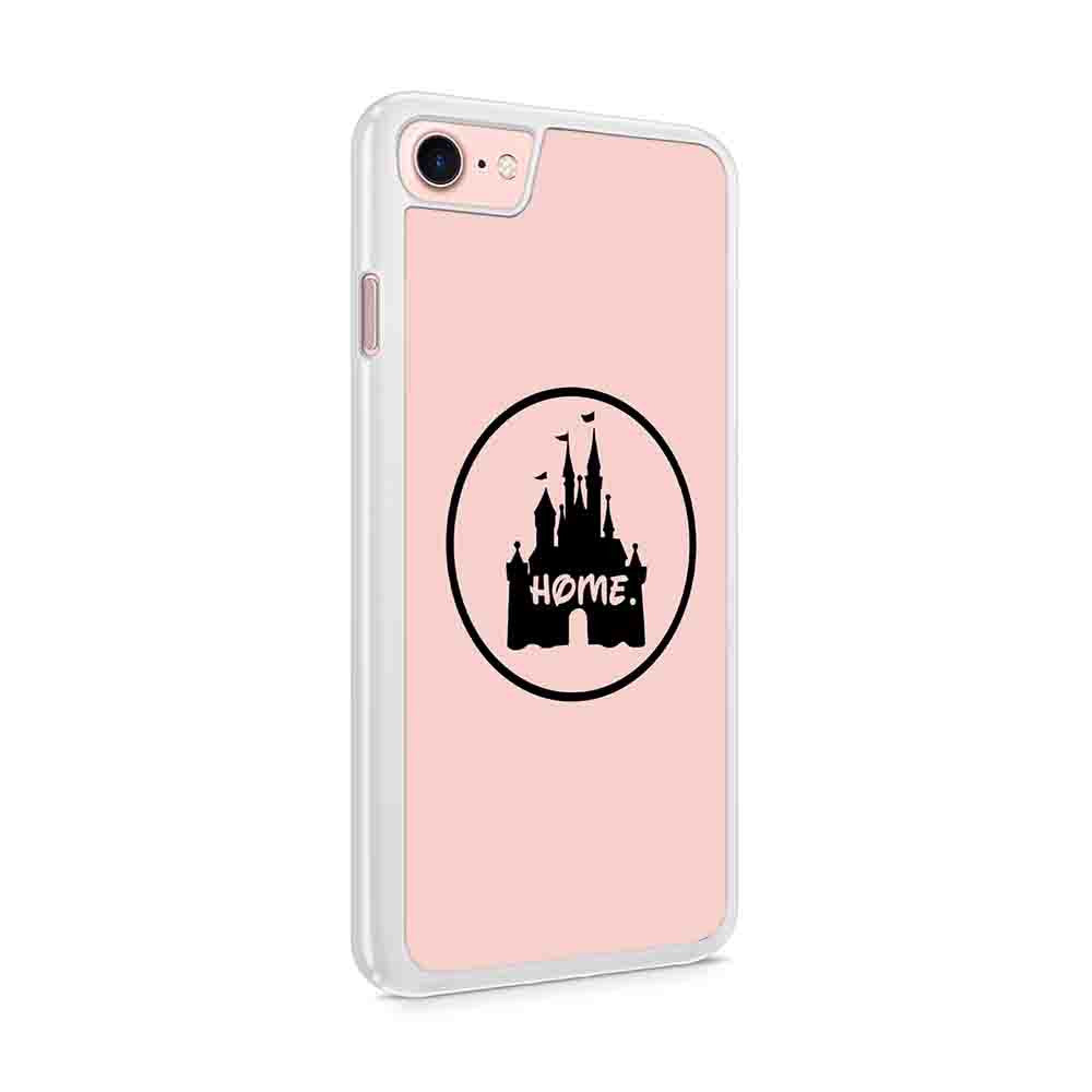 Disney World Castle With Home Disneyland Disney Family Iphone 7 / 6 / 5 Case