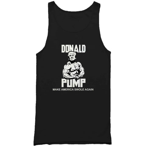 Donald Pump Make America Swole Again Man's Tank Top