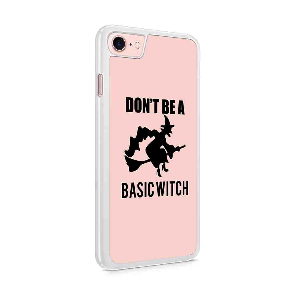 Dont Be A Basic Witch Funny Halloween Party Jack O Lantern Halloween Funny Iphone 7 / 6 / 5 Case