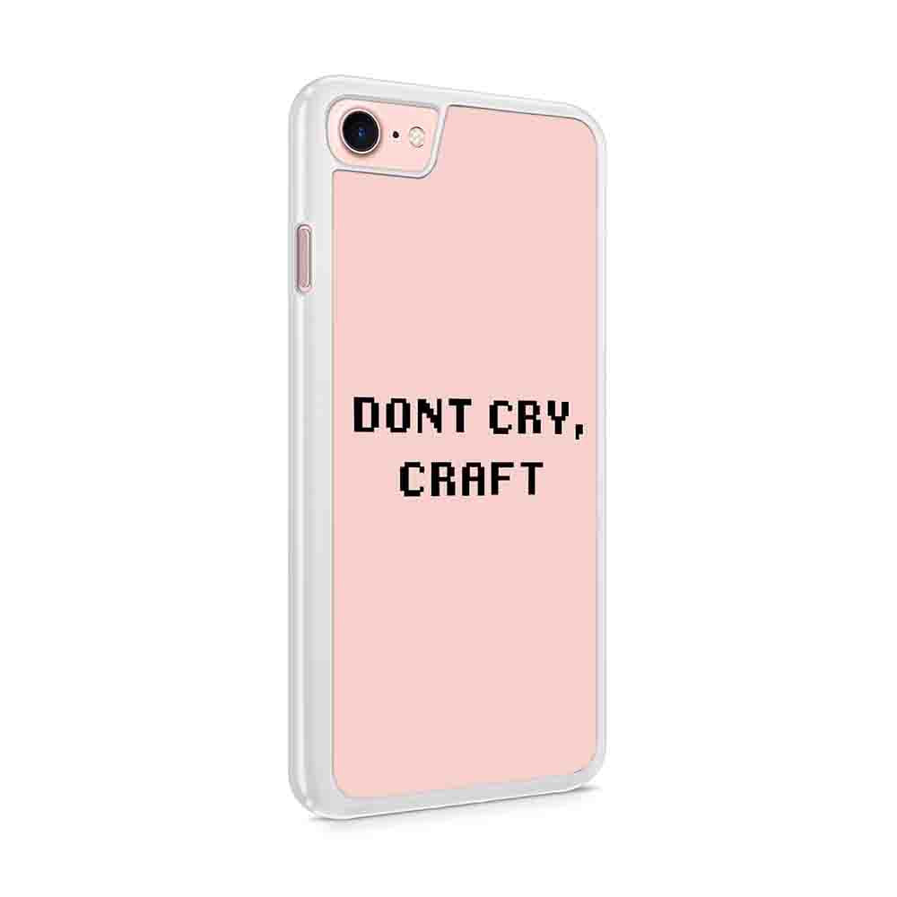 Dont Cry Craft Dan And Phil Phandom Inspired Iphone 7 / 6 / 5 Case