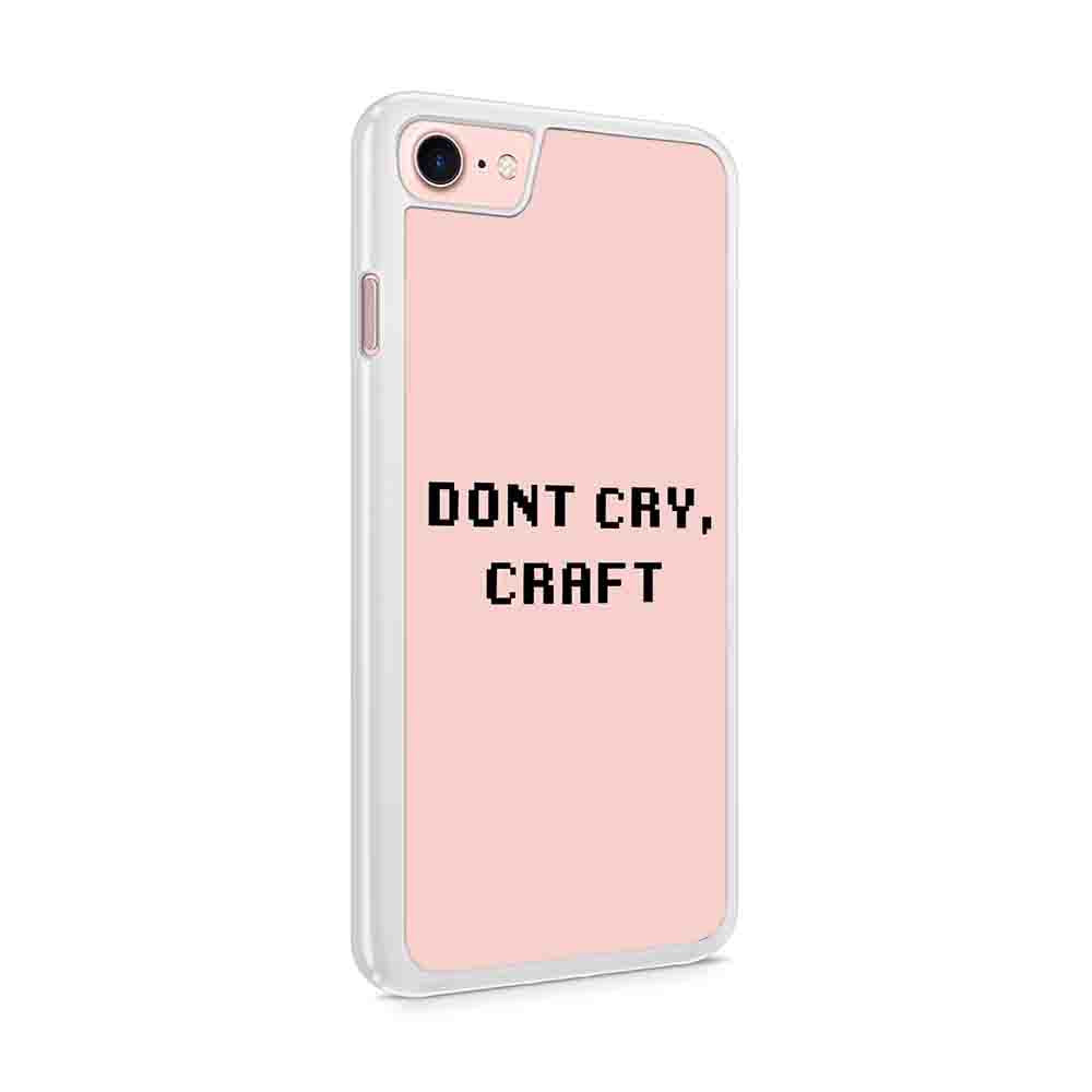Dont Cry Craft Dan And Phil Phandom Inspired Copy Iphone 7 / 6 / 5 Case