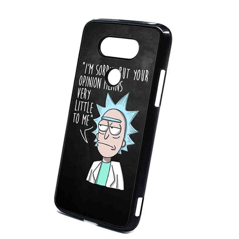 Rick And Morty Opinion Nothing LG G5 Case