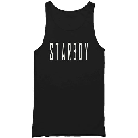 Mans Tank Top Tagged Starboy The Weeknd Song Concert Fan Mans