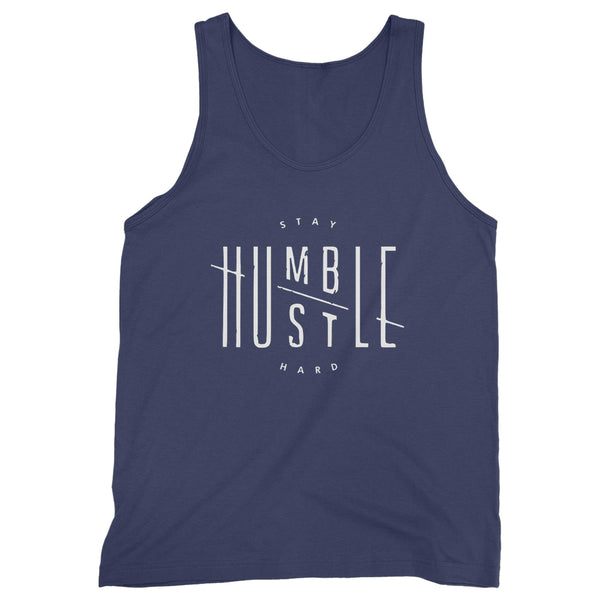 Stay Humble Hustle Hard Quote Man's Tank Top