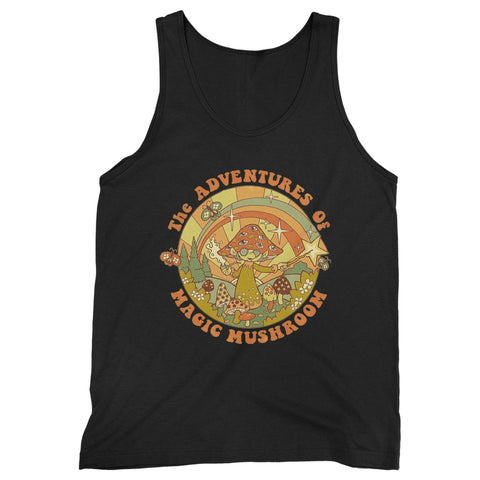 The Adventures Of Magic Mushroom Man's Tank Top