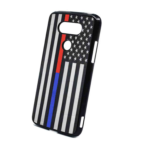 Thin Blue Line Us Flag Police Firefighter LG G5 Case