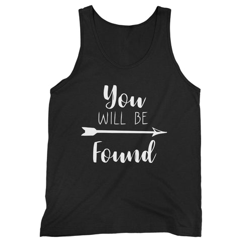 You Will Be Found Man's Tank Top