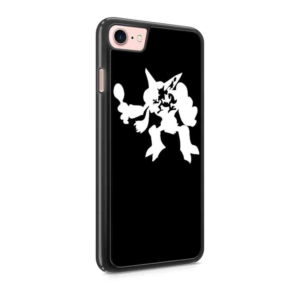 Abra Kadabra Alakazam Silhouetted Pokemon Iphone 7 / 7 Plus / 6 / 6s / 6 Plus / 6S Plus / 5 / 5S / 5C Case