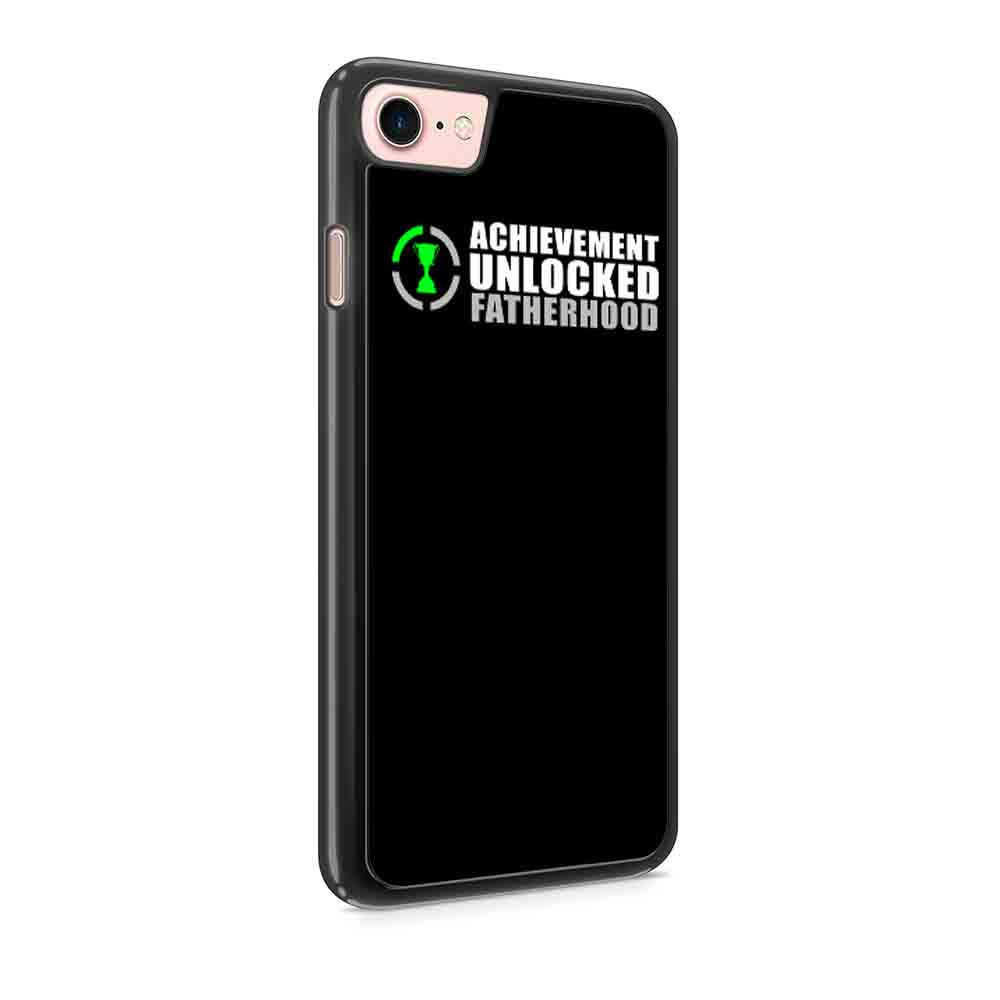 Achievement Unlocked Fatherhood Pregnant Baby New Dad Nerdy Geeky Gift For Fathers Day Nerd Funny Iphone 7 / 7 Plus / 6 / 6s / 6 Plus / 6S Plus / 5 / 5S / 5C Case