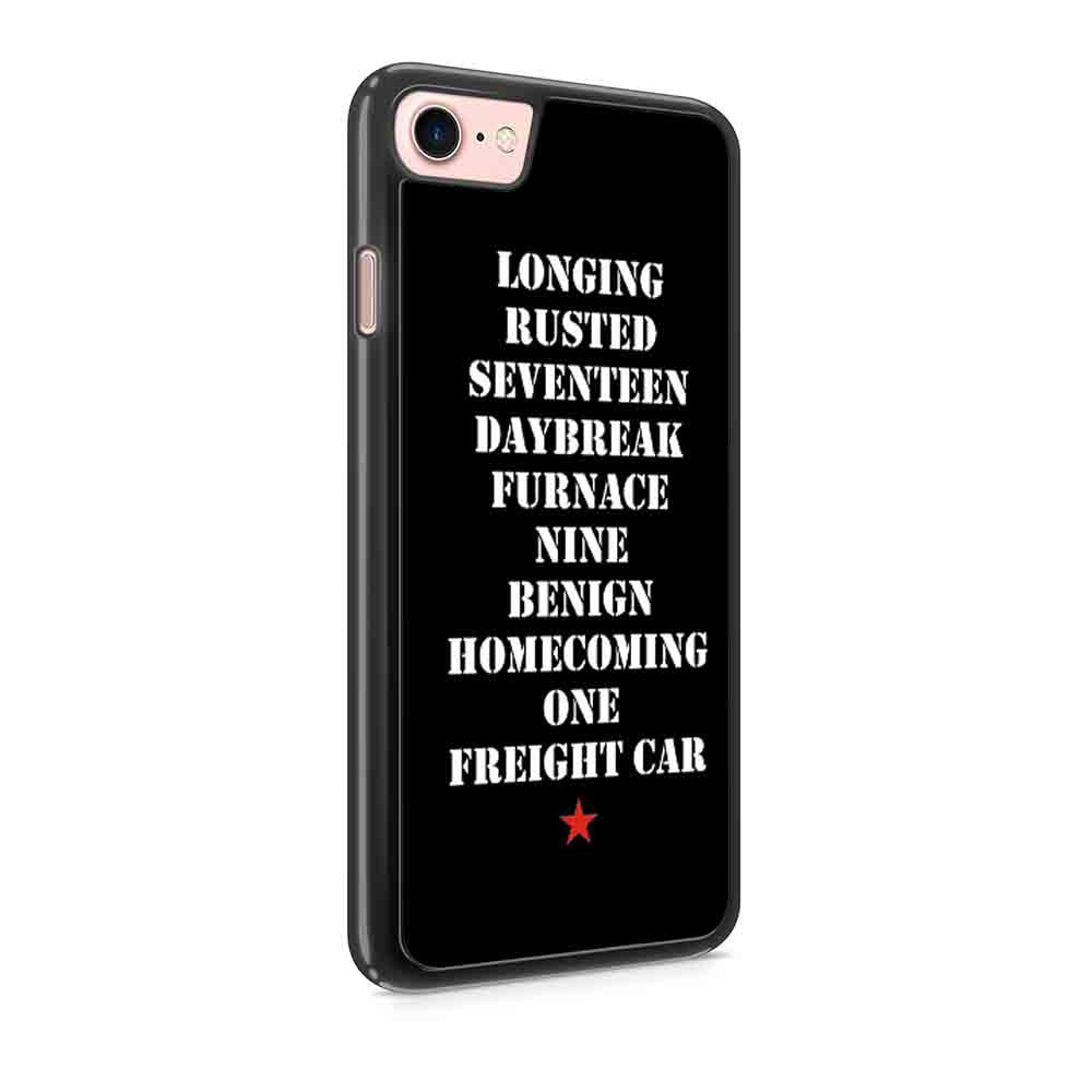Activated Civil War Longing Rusted Seventeen Daybreak Iphone 7 / 7 Plus / 6 / 6s / 6 Plus / 6S Plus / 5 / 5S / 5C Case