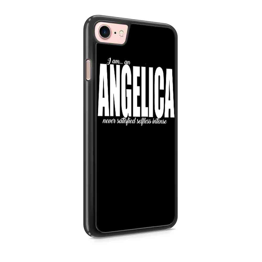 Angelica Schuyler I Am An Angelica Hamilton Musical Iphone 7 / 7 Plus / 6 / 6s / 6 Plus / 6S Plus / 5 / 5S / 5C Case