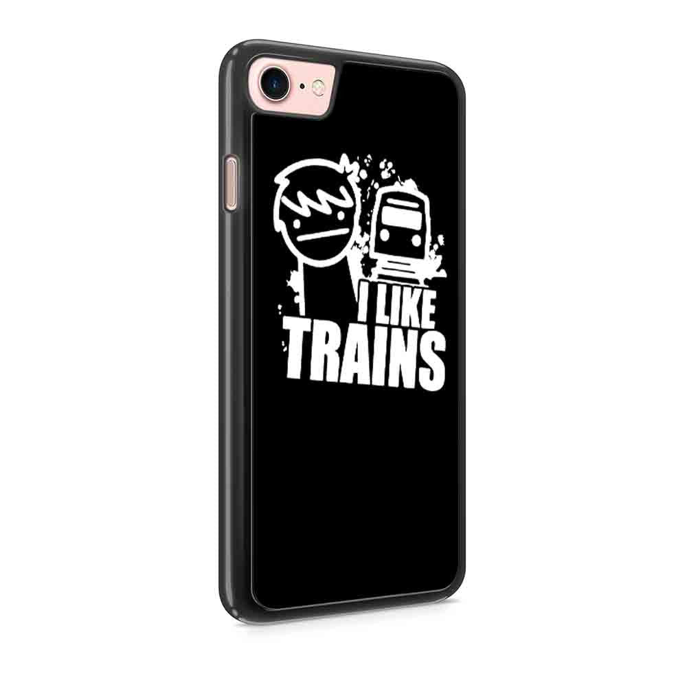 Asdf I Like Trains Youtube Tv Cult Cartoon Gamer Style Iphone 7 / 7 Plus / 6 / 6s / 6 Plus / 6S Plus / 5 / 5S / 5C Case