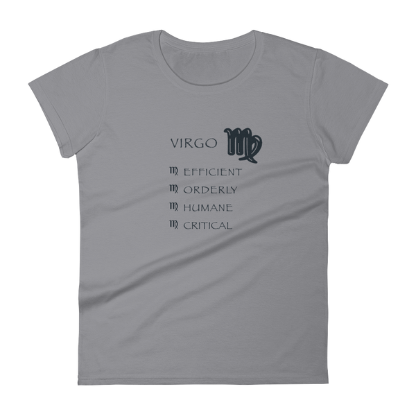 Virgo Women's Anvil Ringspun short sleeve t-shirt