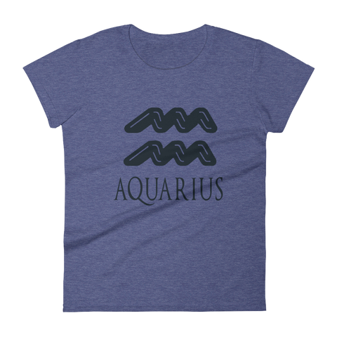 Aquarius Women's Anvil Ringspun short sleeve t-shirt