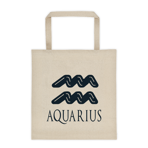 Aquarius Symbol Tote bag