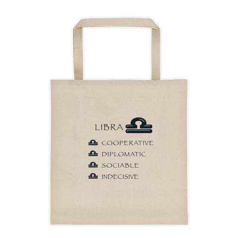 Libra Reinforced Bottom 100% Cotton Tote bag