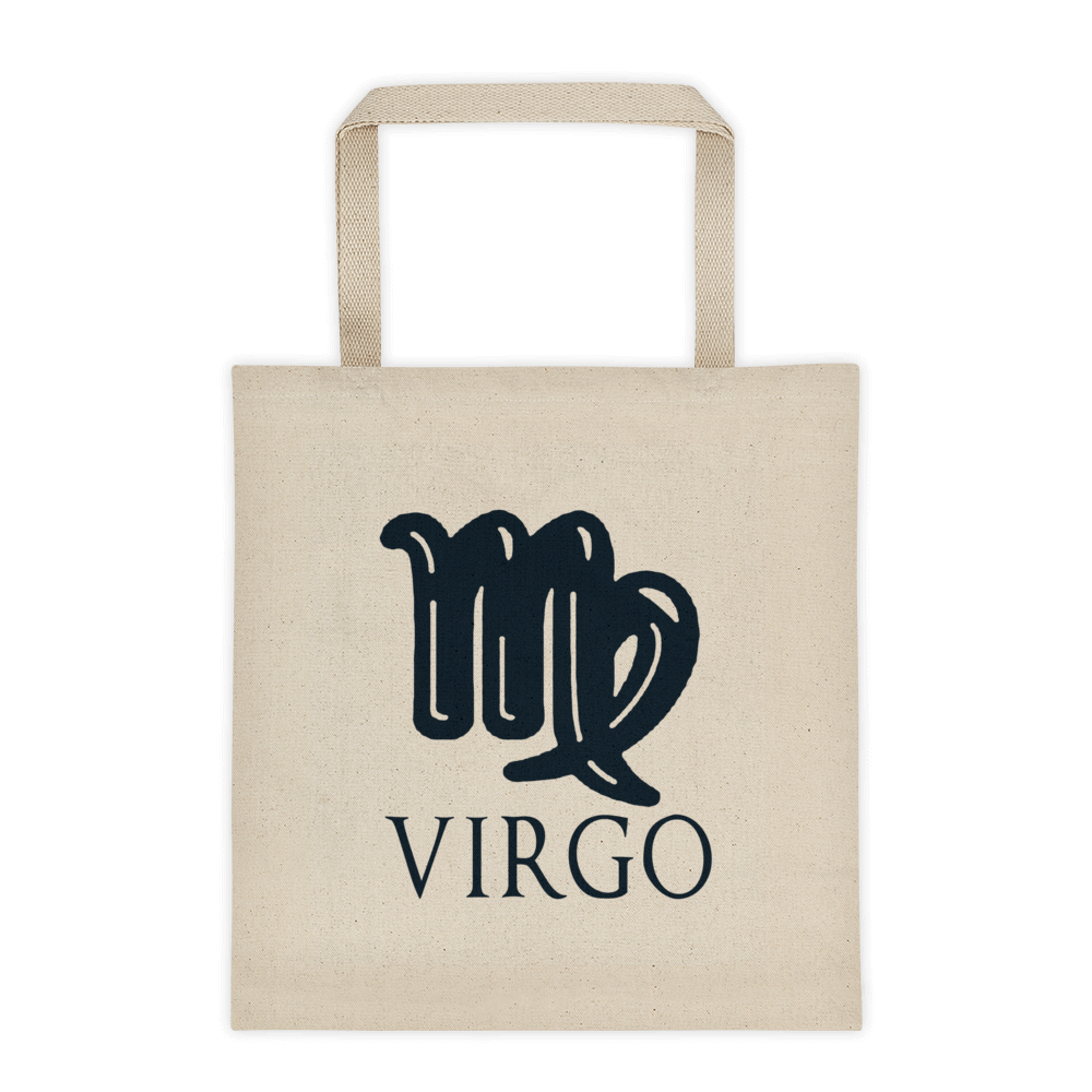 Virgo Symbol Tote bag