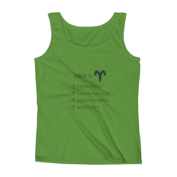 Aries Keywords Ladies' Anvil Tank