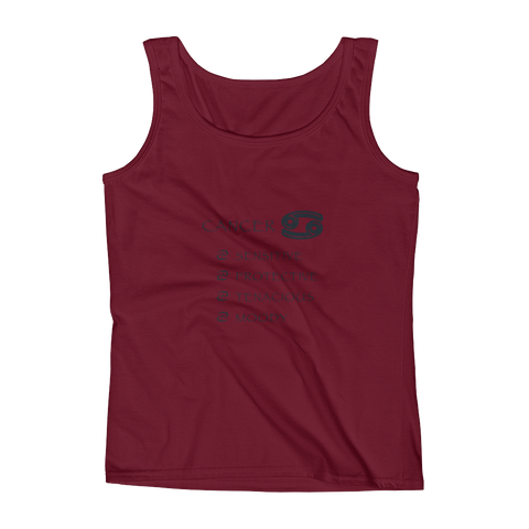 Cancer Keywords Ladies' Anvil Tank