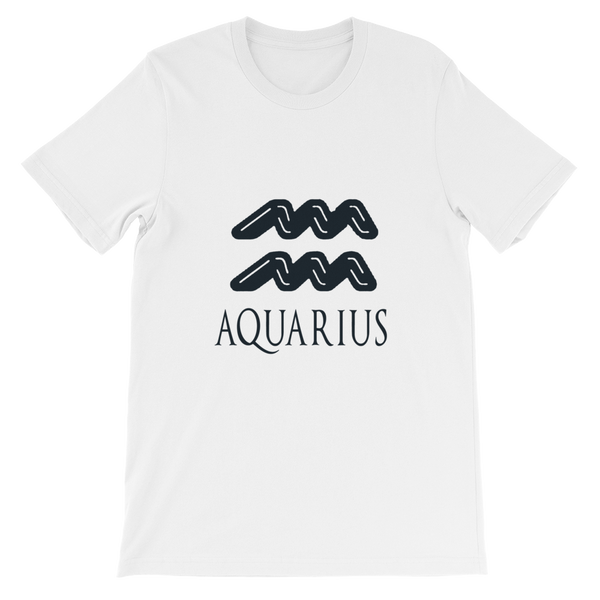 Aquarius Bella + Canvas Unisex short sleeve t-shirt