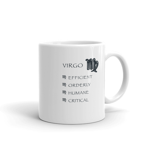 Virgo Keywords Mug