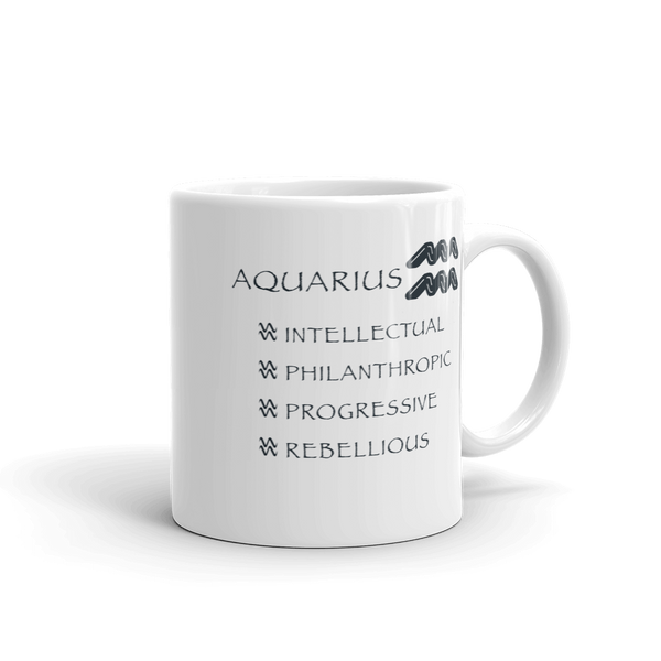 Aquarius Keywords Mug