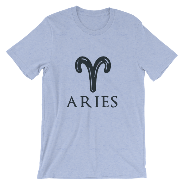 Aries Bella + Canvas Unisex short sleeve t-shirt