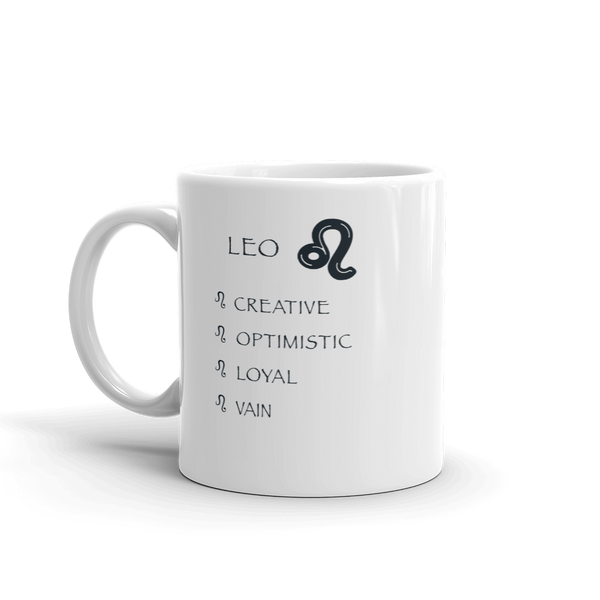 Leo Keywords Mug