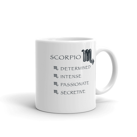 Scorpio Keywords Mug