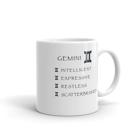 Gemini Keywords Mug