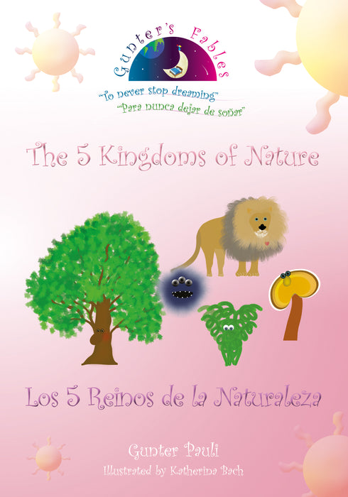 01S: The 5 Kingdoms of Nature | English - Spanish | Printed