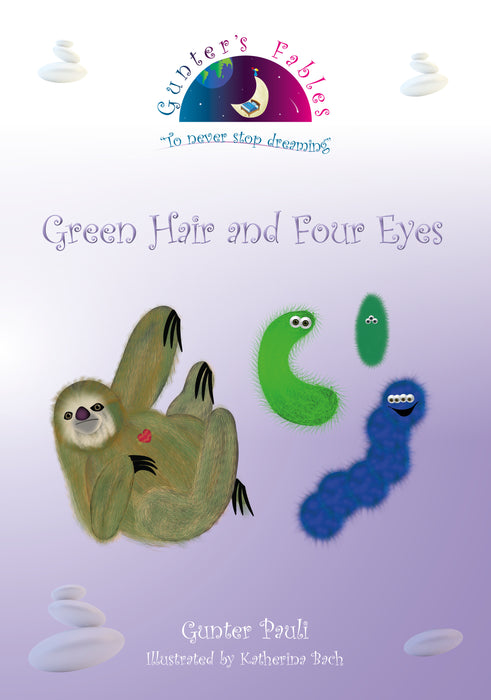 03: Green Hair and 4 Eyes | English | Printed