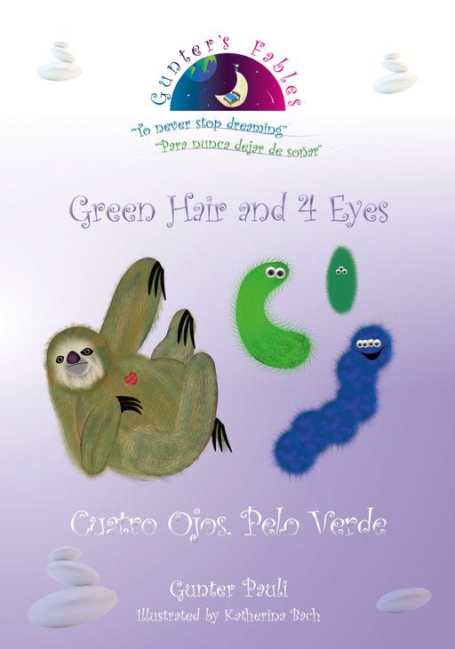 03: Green Hair and 4 Eyes | English - Spanish | Printed