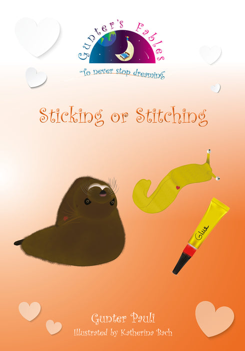 158: Sticking or Stitching | English | Printed