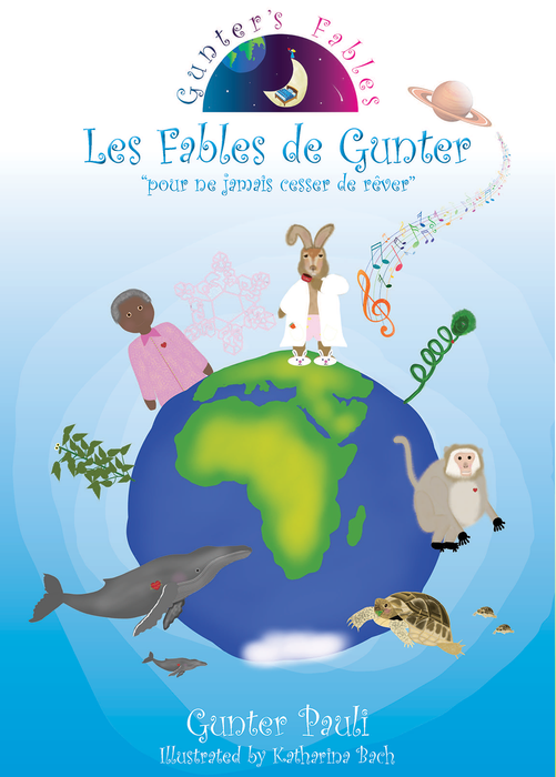 Gunter's Fables 5 Stories (Special Edition) | English - French | Printed