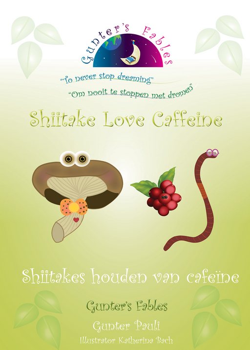 Shiitake Love Caffeine | English - Dutch | Digital