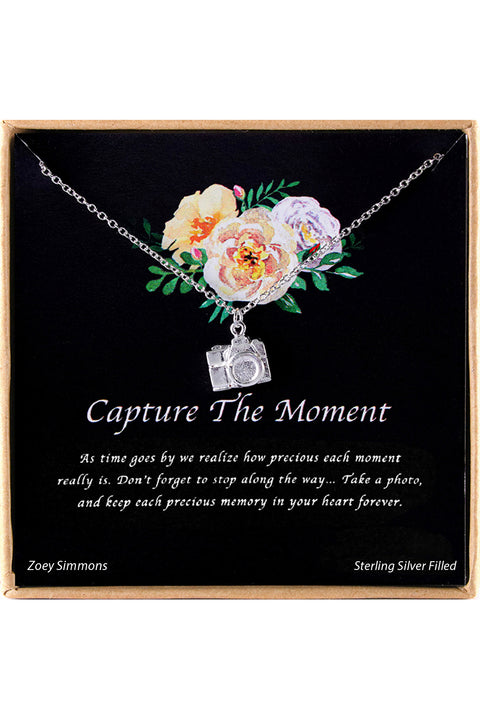 Capture The Moment Charm Necklace