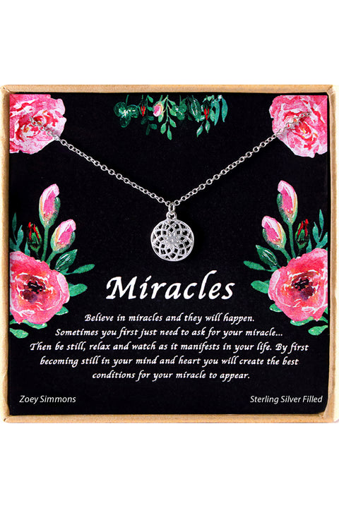 Miracles Charm Necklace