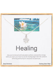 Boxed 'Healing' Inspiration Necklace