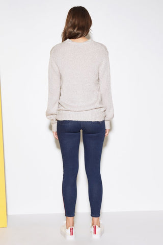 THE FIFTH LABEL Exit Knit Grey Marle 32883