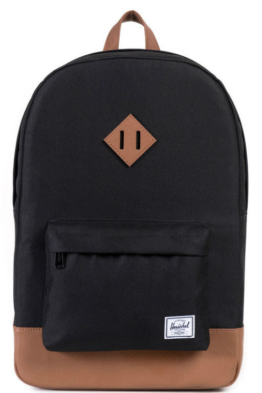 HERSCHEL Heritage Backpack Black/Tan 20192