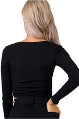 ASHA Rhodes Top Black 33864