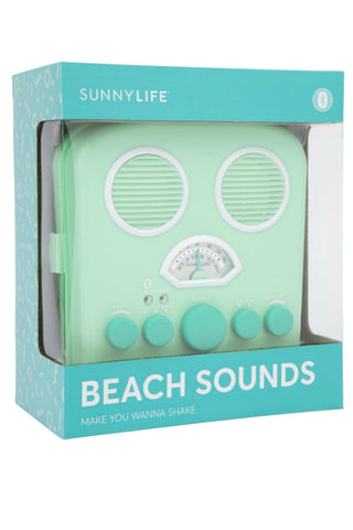 SUNNYLIFE Beach Sounds Lucite Green 32498